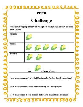 Save the turkey Thanksgiving math challenge!