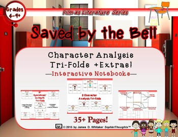 Saved by the Bell Character Analysis Tri-Folds