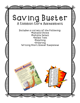Saving Buster Assessment