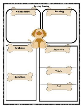 Saving Buster Story Map Graphic Organizer