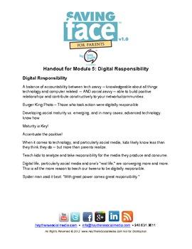 Saving Face: Digital Responsibility Video