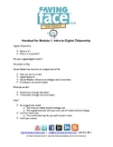 Saving Face: Intro to Digital Citizenship
