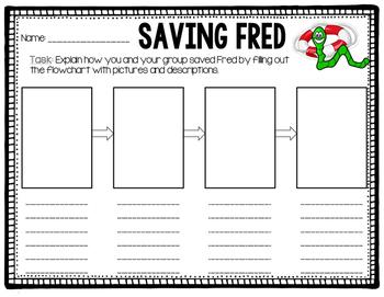 Saving Fred By Laura Pattavina Teachers Pay Teachers Saving Fred Activity Worksheet Saving Fred Subject