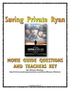 Saving Private Ryan - Movie Guide (World War Two) WWII