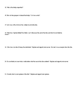 Saving Private Ryan Video Guide Questions