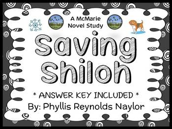 Saving Shiloh (Phyllis Reynolds Naylor) Novel Study / Comprehension  (34 pages)