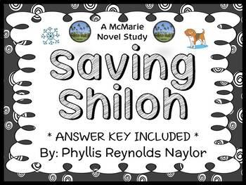 Saving Shiloh (Phyllis Reynolds Naylor) Novel Study / Comprehension  (34 pages)