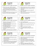 Saving Shiloh Reading Comprehension Questions