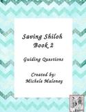 Saving Shiloh - book 2