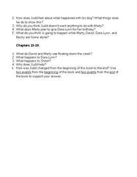 Saving Shiloh (by Phyllis Reynolds Maylor) Novel Study