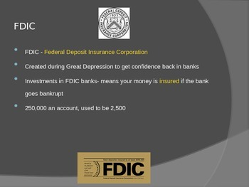Saving, Stocks and Investment PowerPoint