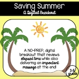 Saving Summer (A Digital Breakout Involving Elapsed Time)