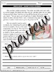 Saving Water Reading Comprehension Passage & Questions Nonfiction Text