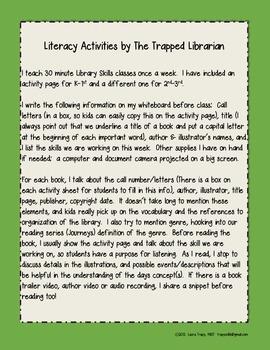 Saving Yasha:  Literacy Activities