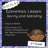 Saving and Spending (2nd Grade Economics Lesson, Standards Aligned)