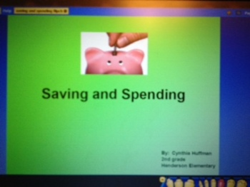 Saving and Spending ActivInspire Flipchart