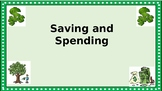 Saving and Spending Task