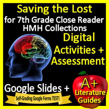 Saving the Lost Google Activities + Self-Grading Test HMH Collections Close Read