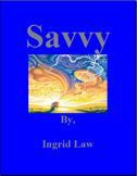 Savvy Comprehensive Novel Study