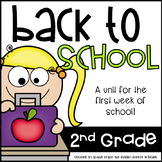 Back to School 2nd Grade