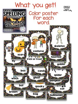 Savvy Spelling for Second Grade HALLOWEEN