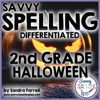 Savvy Spelling for Second Grade HALLOWEEN