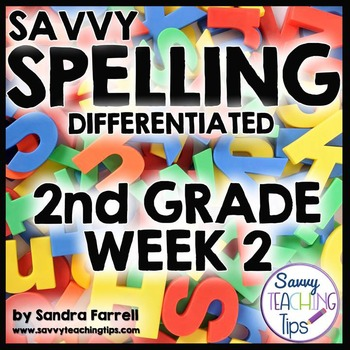 Savvy Spelling for Second Grade Week 2