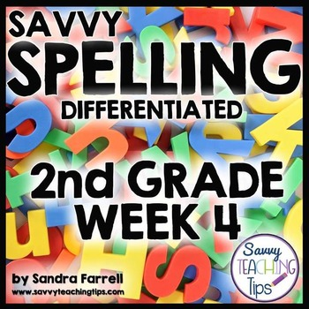 Savvy Spelling for Second Grade Week 4