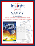 Savvy by Ingrid Law Short Answer & Discuss Questions, Writing Prompts