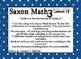 Saxon 3(3rd Grade)Lesson 18 Extension task cards-rounding to nearest ten