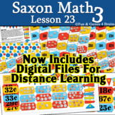Saxon 3 (3rd Grade) Lesson 23 Extension game - Counting dimes, nickels, pennies
