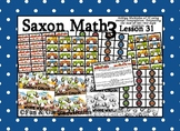 Saxon 3 (3rd Grade) Lesson 31 Extension Game - adding multiples of ten