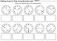 Saxon 3 (3rd Grade) Lesson 39 Extension Activities - Telling Time to 5 mins