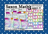 Saxon 3 (3rd Grade) Lesson 41 Extension Activities - Place Value, Expanded Form