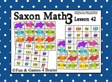 Saxon 3 (3rd Grade) Lesson 42 Extension Activities - Adding two-digit numbers