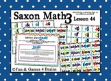 Saxon 3 (3rd Grade) Lesson 44 Extension Activities - missing digit in addition