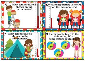 Saxon 3 (3rd Grade) Lesson 83 Extension Activity-Celsius Temperature