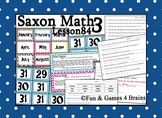 Saxon 3 (3rd Grade) Lesson 84 Extension Activity-Days in a
