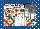 Saxon 3 (3rd Grade) Lesson 91 Extension Activity- 3 digit