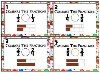 Saxon 3 (3rd Grade) Lesson 93 Extension Activity- Comparing, add, subt fractions