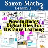Saxon 3 (3rd grade) Lesson 2 Reading and Creating Graphs D