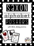 Saxon Alphabet Posters - REAL LIFE