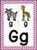 Saxon Phonics Alphabet Posters {bright chevron}