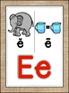 Saxon Phonics Alphabet Posters {burlap}