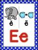 Saxon Phonics Alphabet Posters {rainbow polka dots}