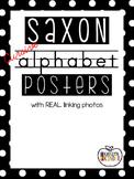 Saxon Cursive Alphabet Posters - REAL LIFE