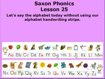 Saxon Kindergarten Lesson 1