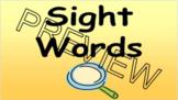 Saxon Kindergarten Sight word practice with NearPod
