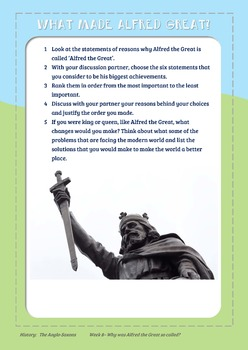 Saxon Kings - What made Alfred the Great, great?