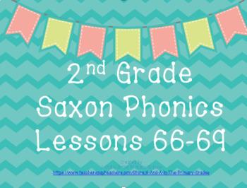 2nd Grade Saxon Phonics Lessons 66-69